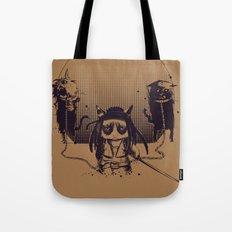 Walking grump Tote Bag