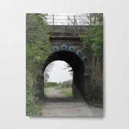 Bridge under the Railway Metal Print