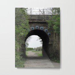 Bridge under the Railway Metal Print