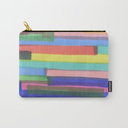 Happy Stripes Carry-All Pouch
