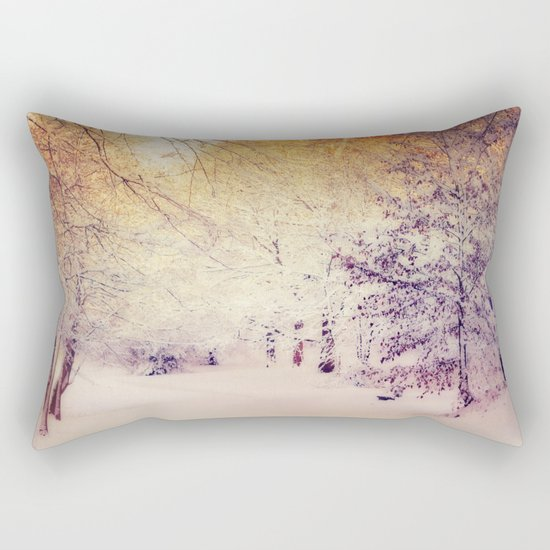 Snow Dream Rectangular Pillow
