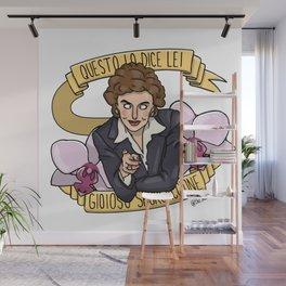 Queen Franca Wall Mural