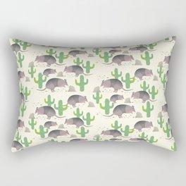 The Armadillos I Rectangular Pillow