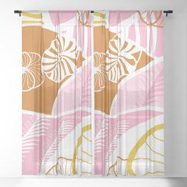 hawaii Sheer Curtain