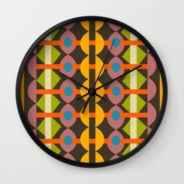 Quilt Geo Wall Clock