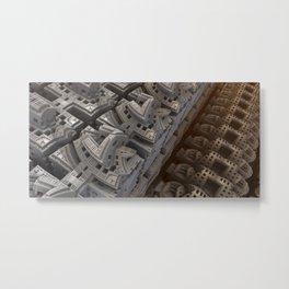 Blad city Metal Print
