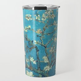 Branches with Almond Blossom - Vincent van Gogh Travel Mug