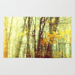 Woodland Abstract Rug