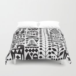 Forest print Duvet Cover