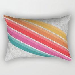 Retro - Downhill Concrete #881 Rectangular Pillow