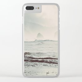 Great American Road Trip - Oregon Coast Clear iPhone Case