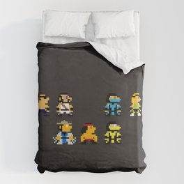Choose Your Fighter Duvet Cover
