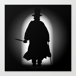 Jack the Ripper Canvas Print