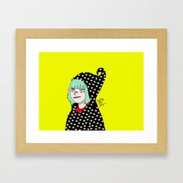 witchy witch Framed Art Print