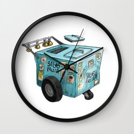 Paleta / Ice Cream Cart Wall Clock