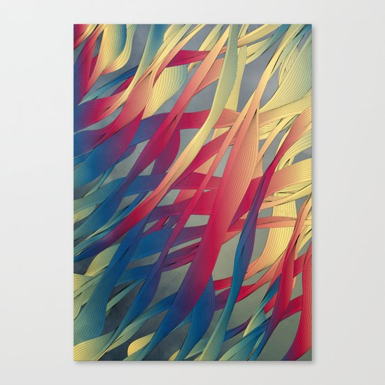 Modern Aquatic Nightsongs Canvas Print