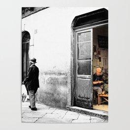 Vulture: old shoemaker Poster