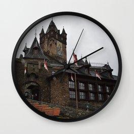 German Castle Wall Clock