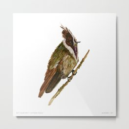 Buffy Helmetcrest Metal Print