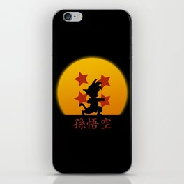 Young Saiyan Warrior V2 iPhone Skin