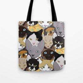 Cat takeover Tote Bag