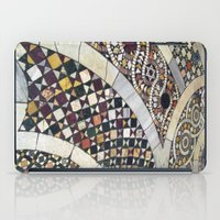 jewish iPad Cases featuring Mosaic Tile Vatican Floor (Hidden Jewish Star) by Amanda Lynn Granek