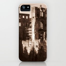 Ruins in Heidelberg iPhone Case