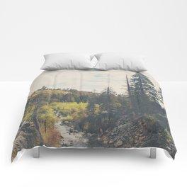 into the wild ...  Comforters
