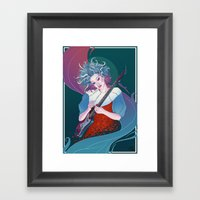 Our Lady of Rock Framed Art Print