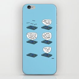 The New Yorker Called / I Drew This Thing iPhone Skin