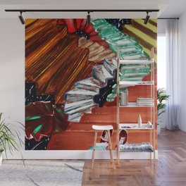 Stairs in a dream Wall Mural