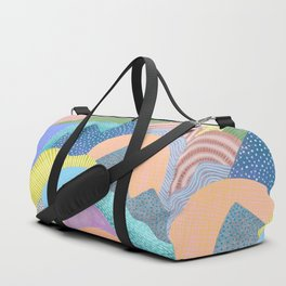 Modern Landscapes and Patterns Duffle Bag