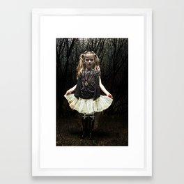 Dark Child Framed Art Print