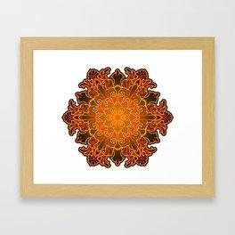 Filigree v1 Framed Art Print
