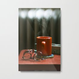 the coffee Metal Print