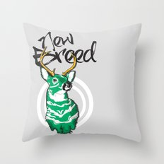 New Breed Throw Pillow