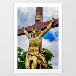 Crucifixion of Jesus Art Print