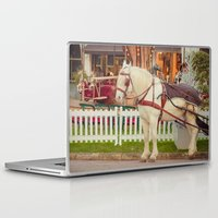 carousel Laptop & iPad Skins featuring Carousel by Sébastien BOUVIER