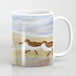 Sandpipers at Emerald Isle Coffee Mug