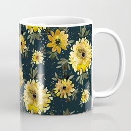 Sunflower Sparkle - black Coffee Mug