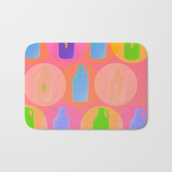 Summer Brews Bath Mat