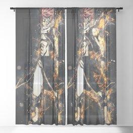Natsu - Fairy Tail Sheer Curtain