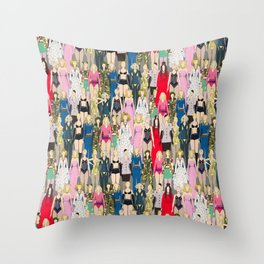 Madonna-A-Thon Throw Pillow
