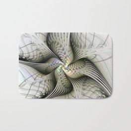 Flying, Abstract Fractal Art Fantasy Bath Mat