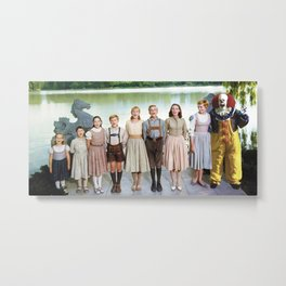 Pennywise in The Sound of Music Metal Print