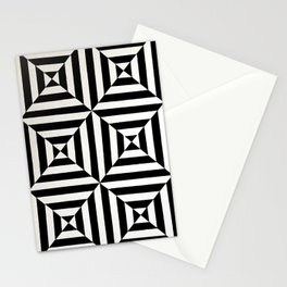 Original geometric design by Dominic Joyce Stationery Cards