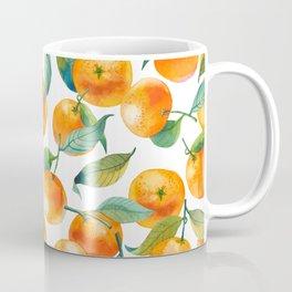 Mandarins With Leaves Coffee Mug