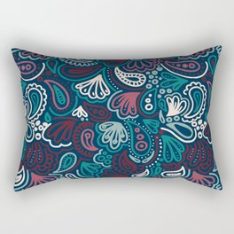 Abstract Batik Pattern IV Rectangular Pillow