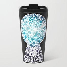 Kingdom Keyhole (blue) Travel Mug