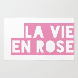 La vie en rose Rug